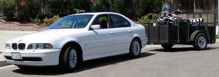 I Know I Know E39 S Shouldn T Be Used For Towing But